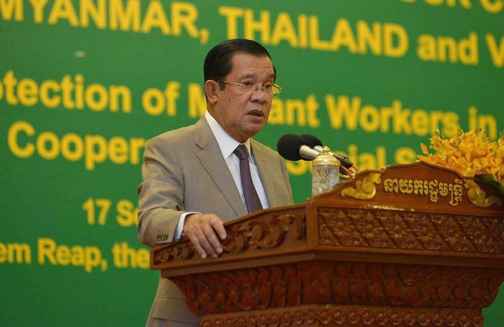 Le Premier ministre cambodgien Hun Sen