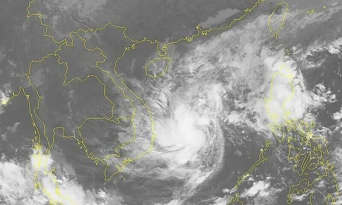 'arrivée de la tempête tropicale Etau