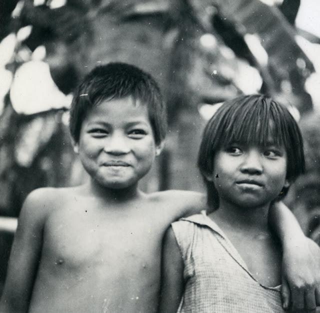Enfants du Laos. 1930