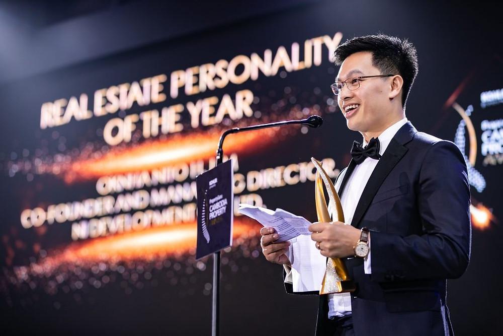 le cofondateur et directeur général de NI Development Co. Ltd, Oknha Nito H. Lim