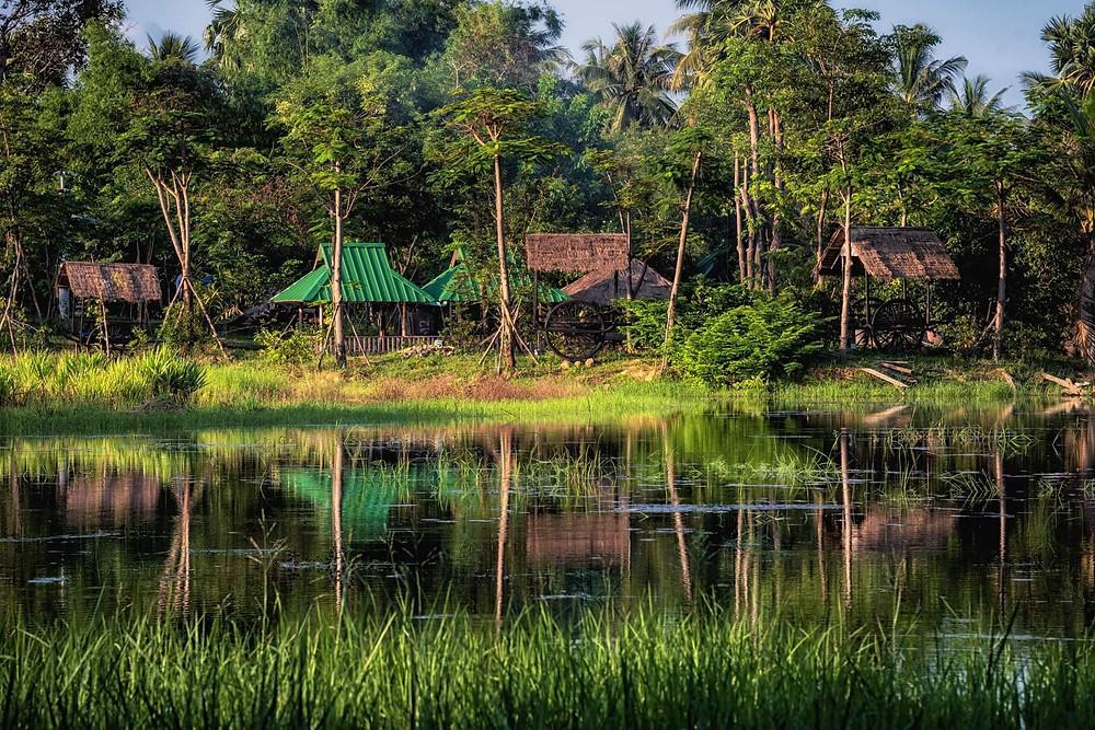 Bakong, situé à Thnal Trang