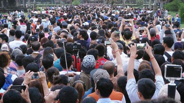 Angkor Wat - Equinoxe : plus de vingt mille visiteurs