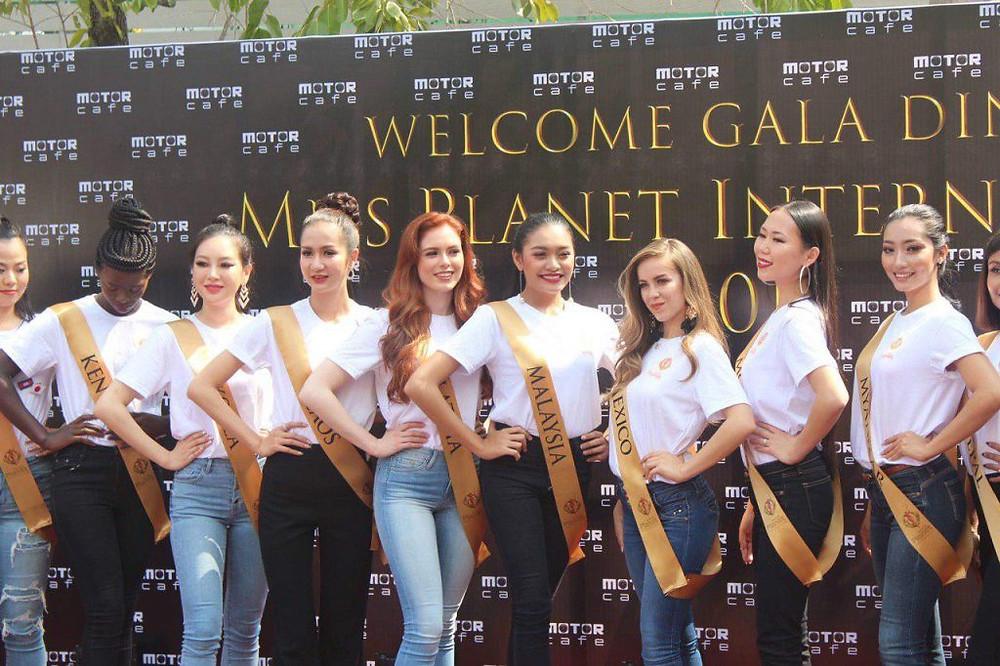 Les candidates de Miss Planet International
