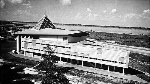 Le théâtre national Preah Suramarit au Bassac