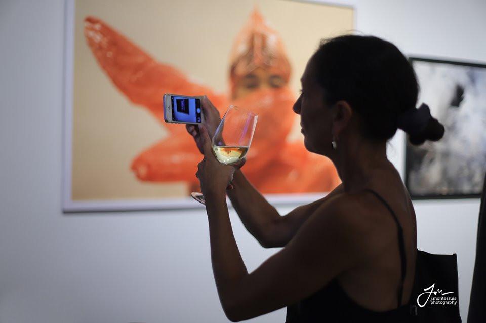 Ouverture de la galerie d'art contemporain SRA'ART - Photographie par Jérémie Montessuis
