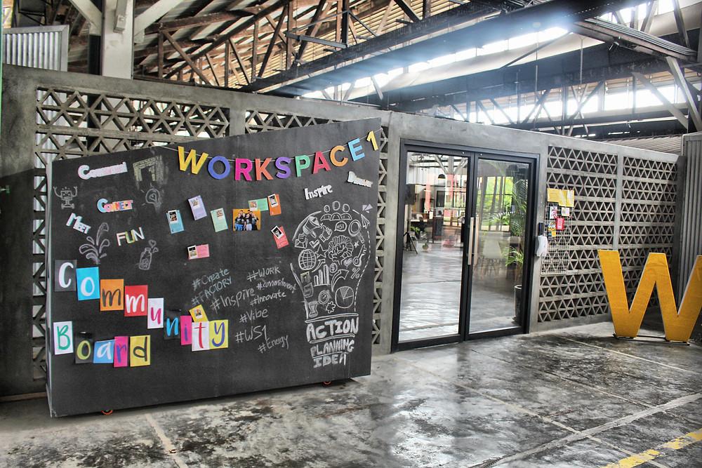 Espace de travail à The Factory