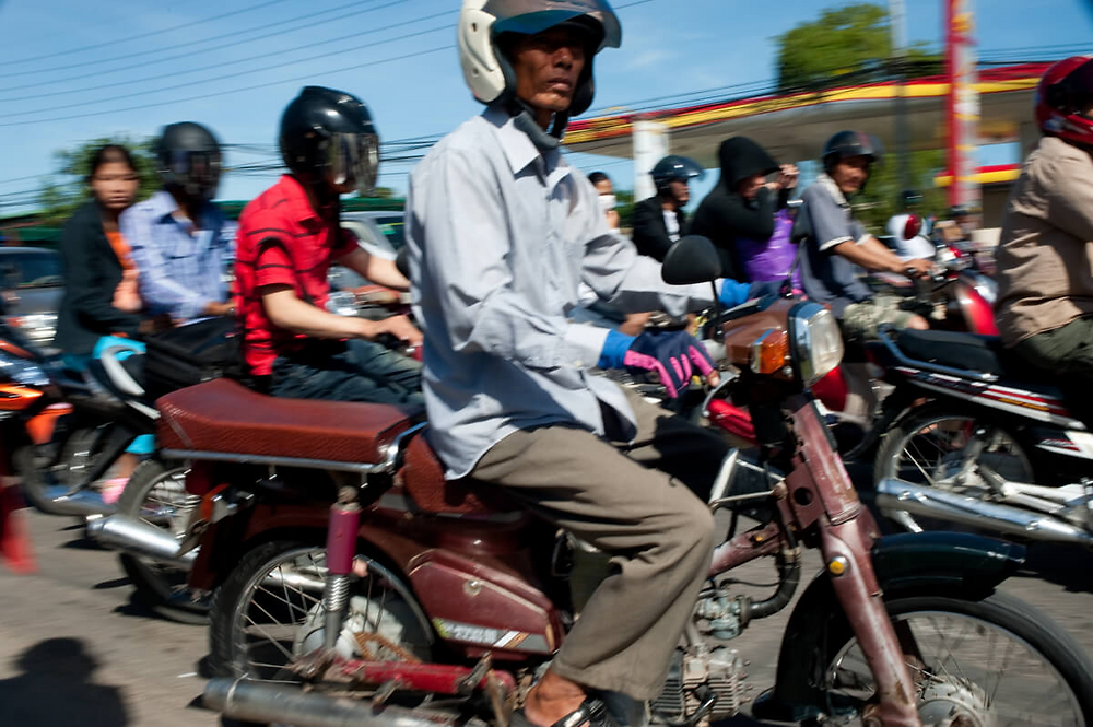 Le rapport indique que trois quarts des victimes sont des motocyclistes