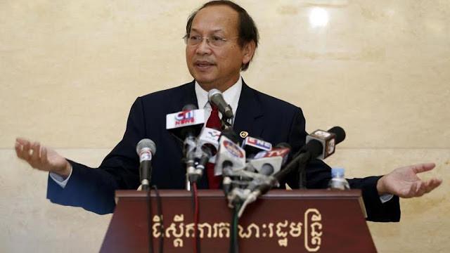 Phay Siphan, porte-parole du gouvernement royal du Cambodge