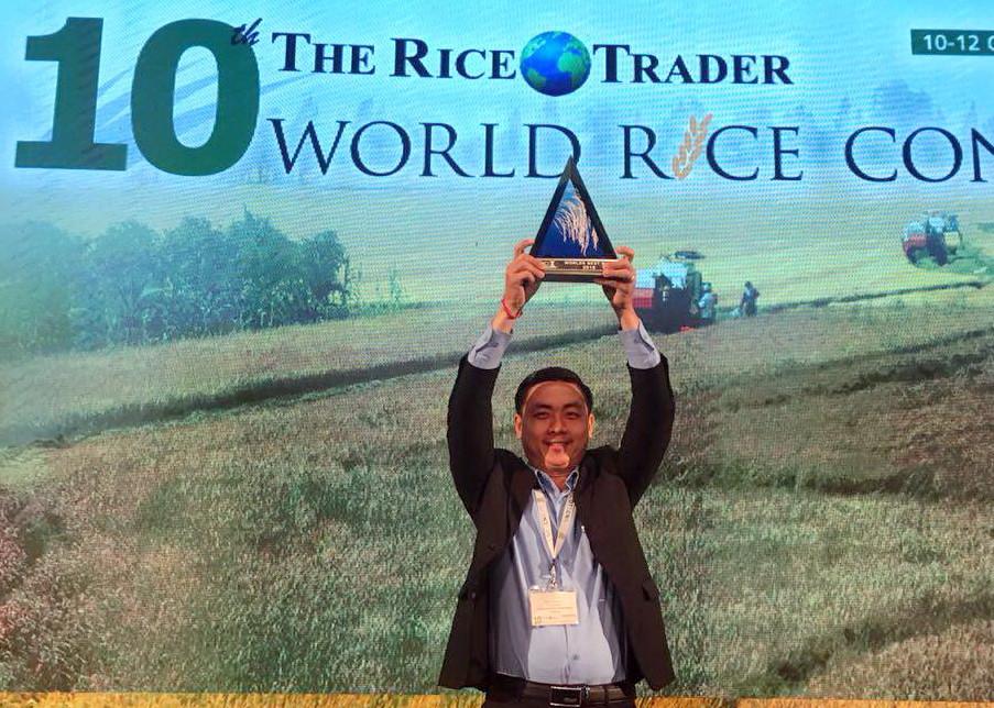 Le riz parfumé cambodgien a remporté le prix du meilleur riz au monde en 2018 lors de la dixième conférence mondiale sur le riz