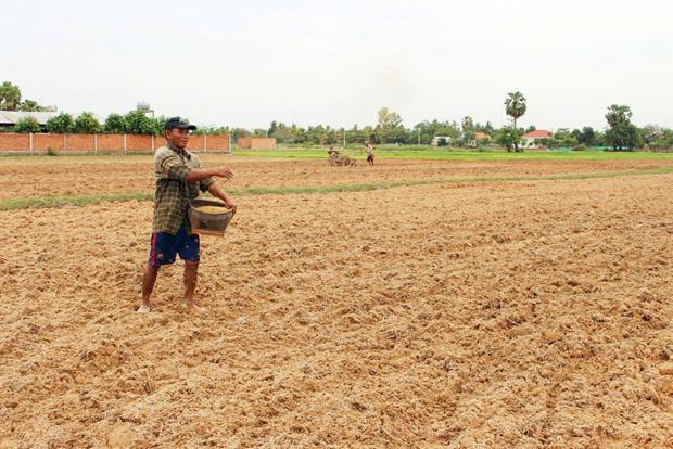 Agriculteur de Siem Reap. Photo AKP