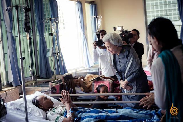Vingtième anniversaire de l'hôpital de Sihanoukville - Centre de l'Espoir. Photographie BONG JOY Events