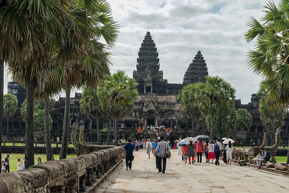 Siem Reap, la chute est bien plus sévère, moins 90 %