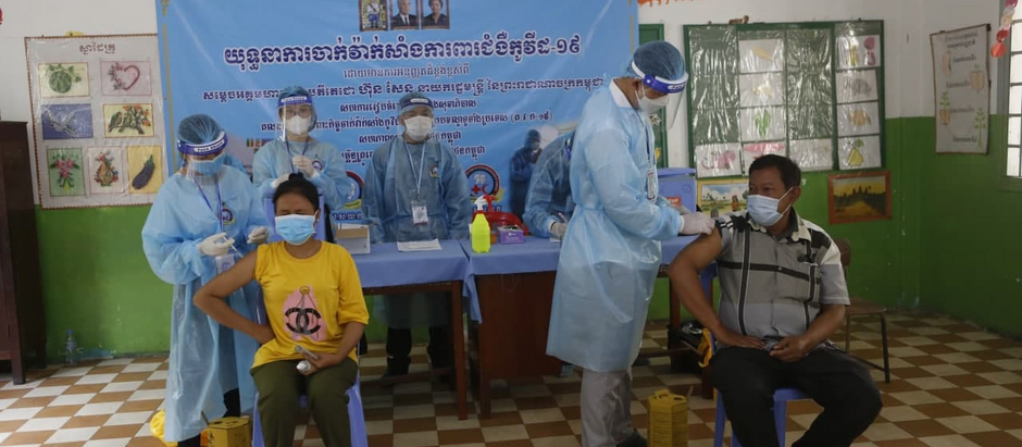 Cambodge & Santé : La couverture vaccinale atteint 30% dans le royaume