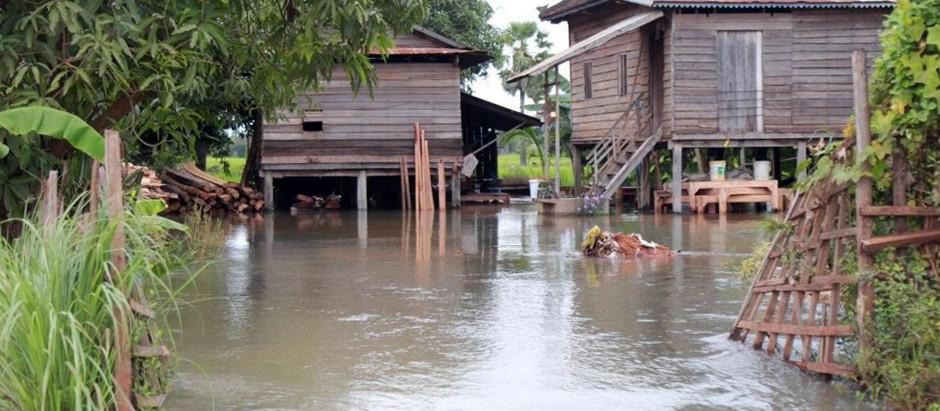 Brève & Actualité : Inondations dans la province de Siem Reap