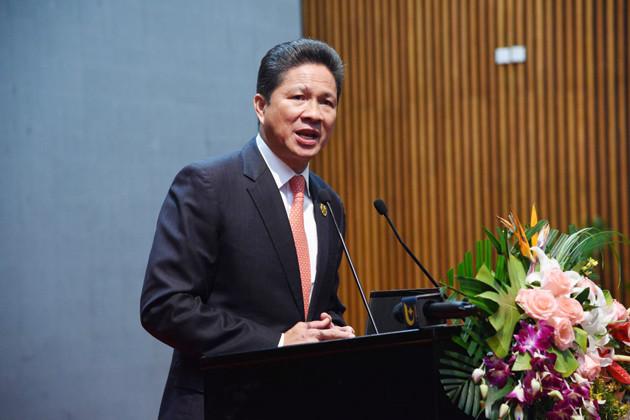 Sun Chantol, Ministre des Tranports au Cambodge