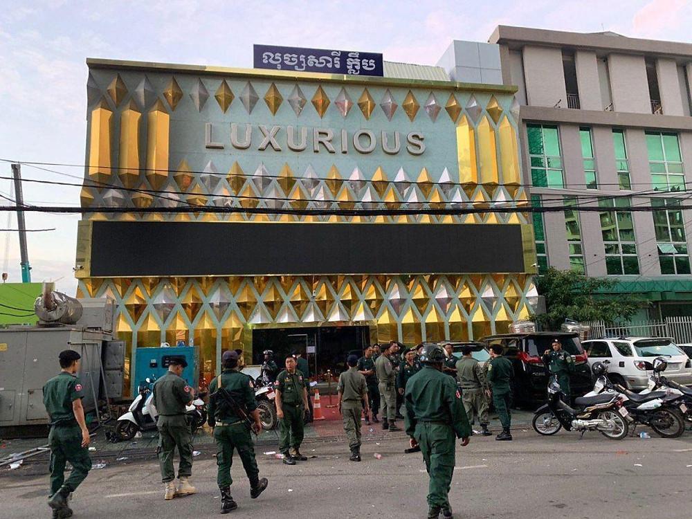 Drogue : Descente dans le club Luxurious de Phnom Penh