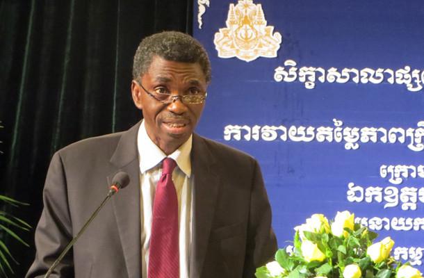 Alassane Sow, représentant de la Banque mondiale au Cambodge