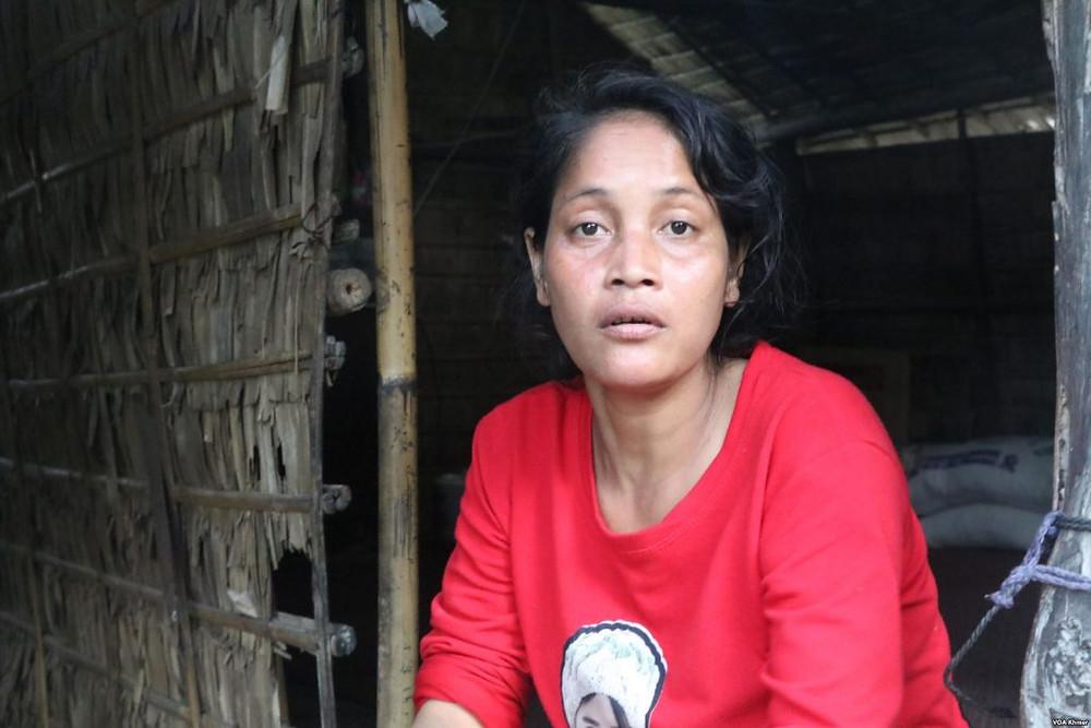 Ol Thida, 34 ans, mère des deux soeurs assassinées le 17 octobre 2018
