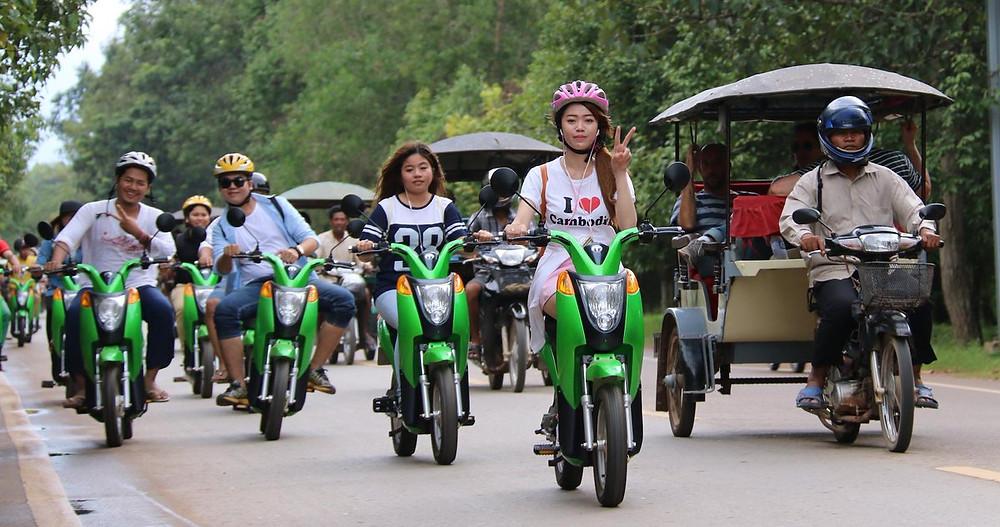 Illustration : Electric Bike Cambodia