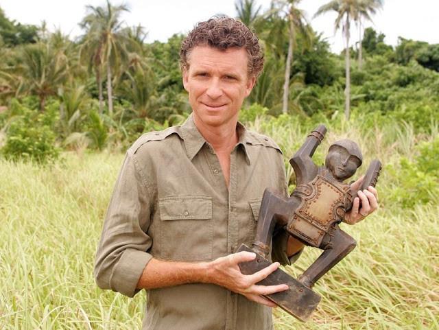 Denis Brogniart au Cambodge. Photo CL Mag