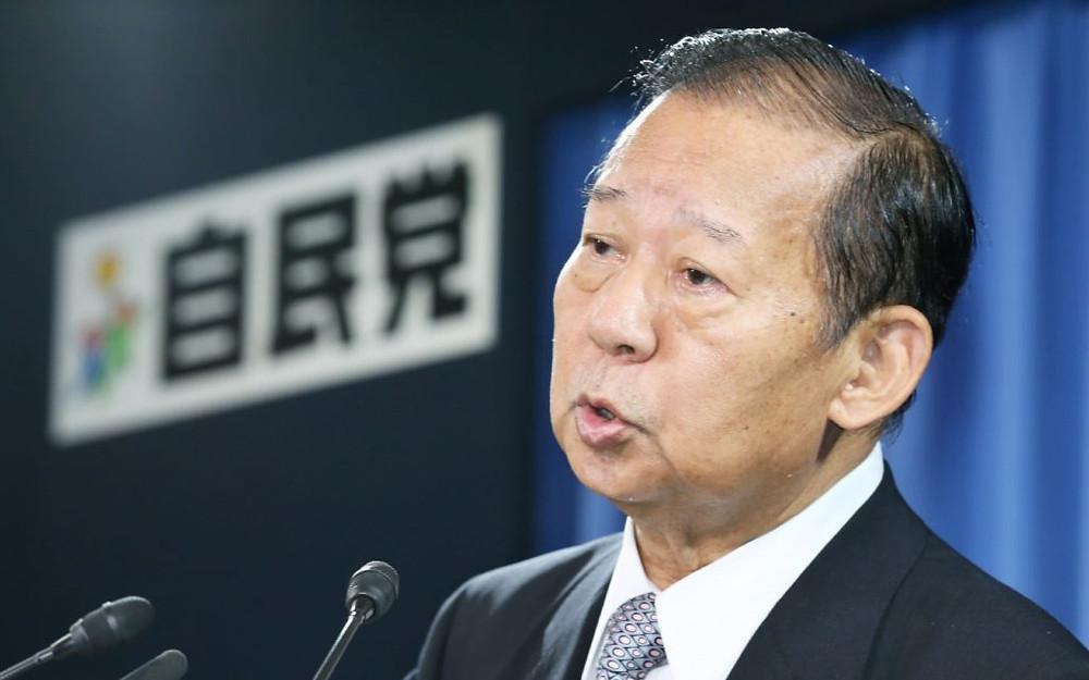 Le secrétaire général du Parti libéral démocrate japonais, Toshihiro Nikai