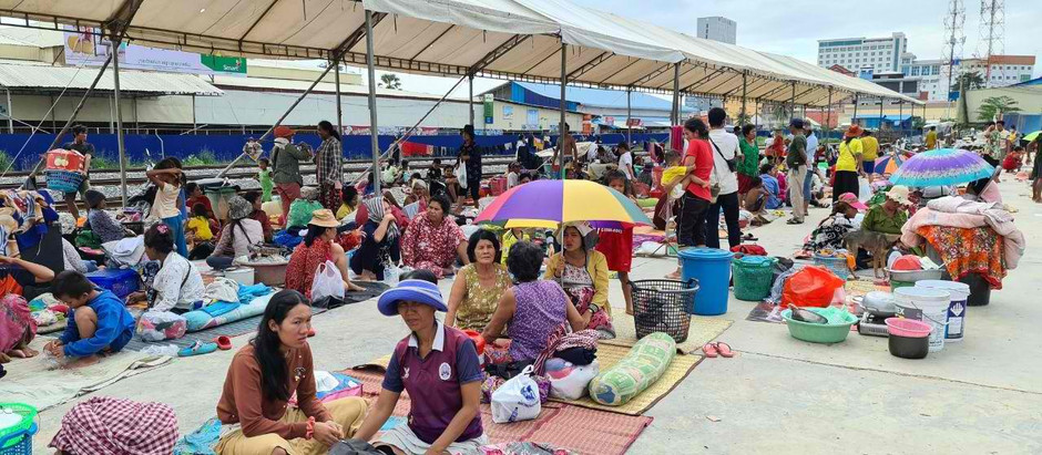 Cambodge & Inondations : Beanteay Meancheay, le cauchemar continue