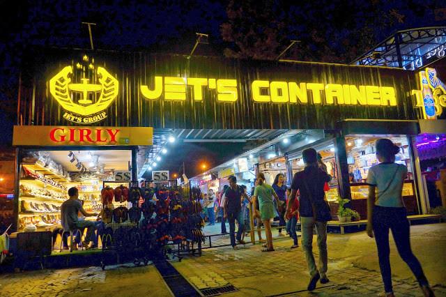 Phnom Penh : La fin du Jet's Container Night Market