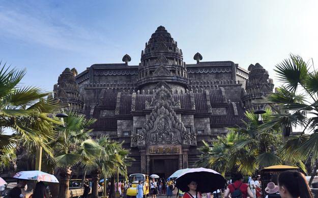 Réplique d'Angkor Wat à Nanning