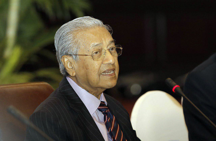 le Dr Mahathir Mohamad