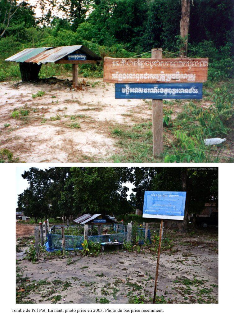 Tombe de Pol Pot