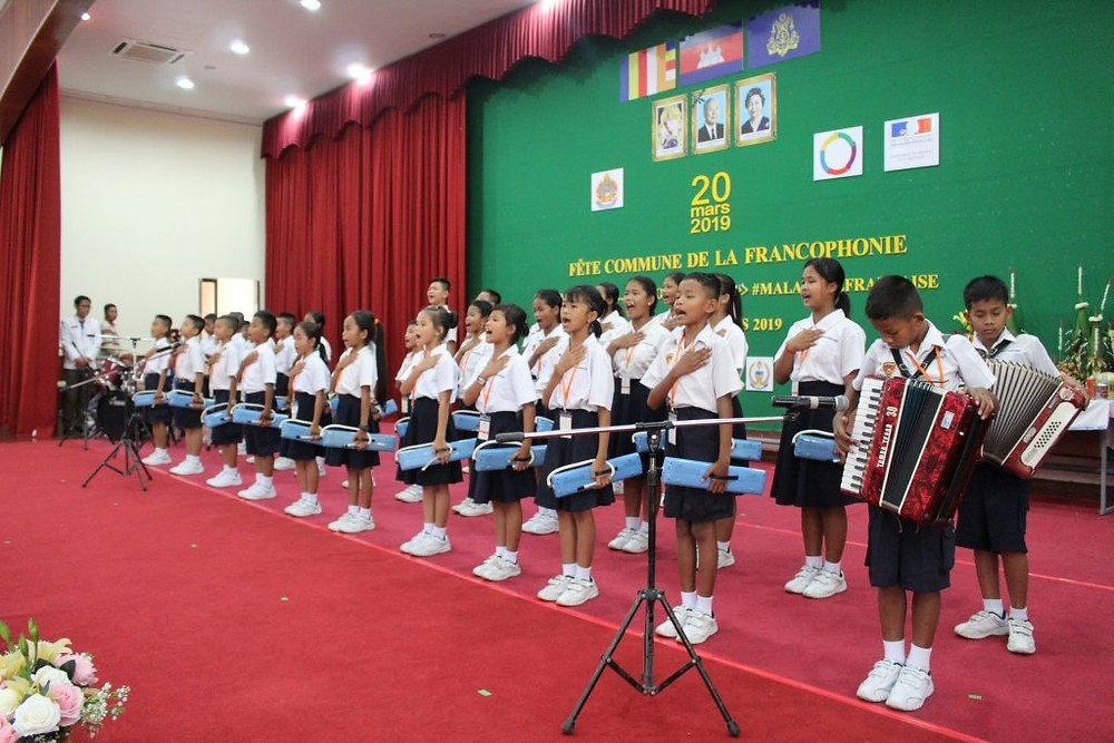 Clôture de la Fête Commune de la Francophonie à Phnom Penh