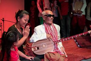 Maître Kong Nay a été déclaré trésor national vivant par le gouvernement cambodgien
