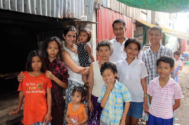 Avec les enfants des bidonvilles