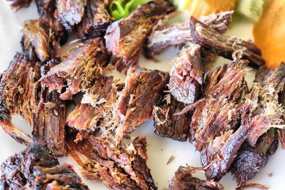 Succulente viande de buffle