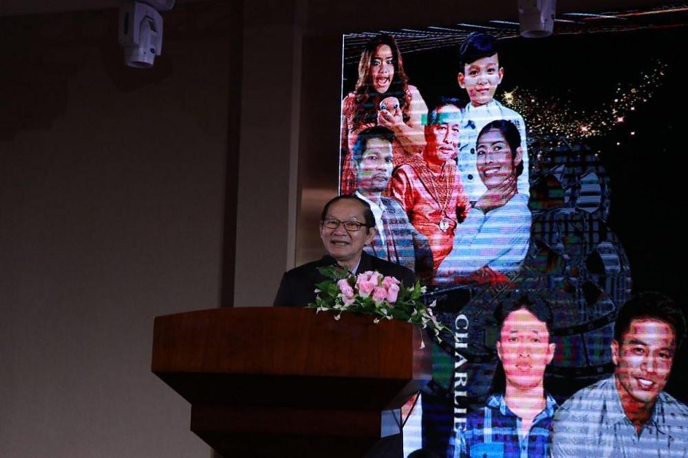 """Une nouvelle production chinoise """"Guardian Angel"""" sera tourné à Phnom Penh et Siem Reap, a annoncé Som Sokun"""