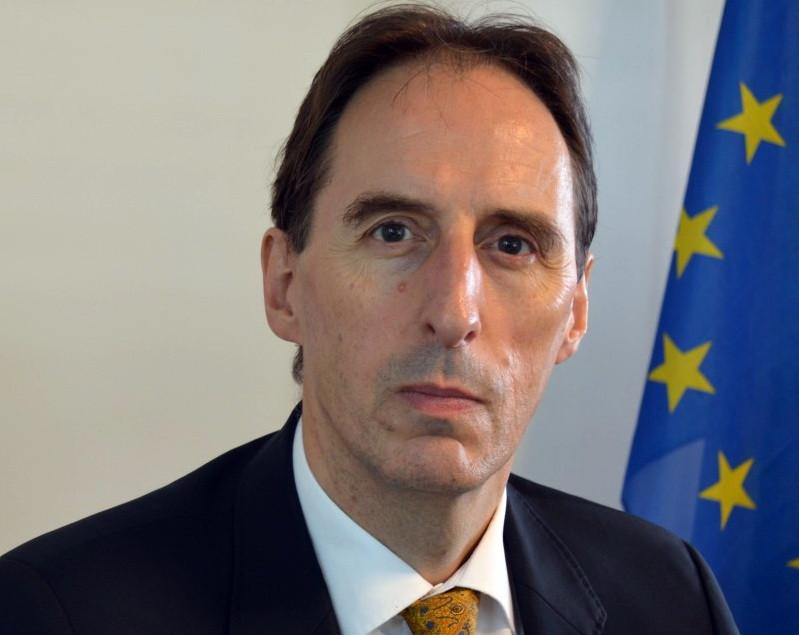 L'ambassadeur de l'Union européenne au Cambodge, S.E. George Edgar