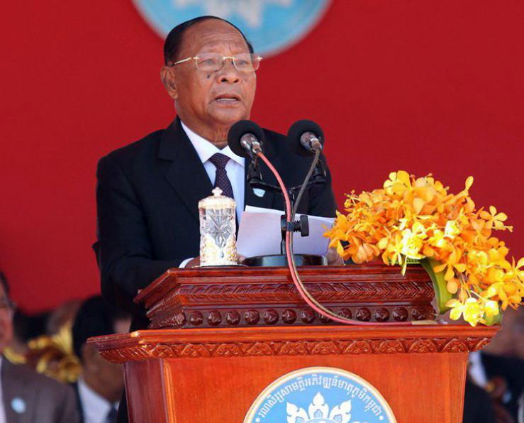 Le président de l'Assemblée nationale