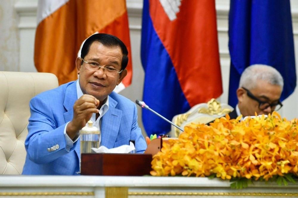 e Premier ministre Hun Sen