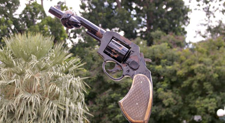 En Images – Phnom Penh : A propos de Twisted Gun