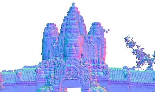 Institut français - Exposition :  Déambulations virtuelles à Angkor