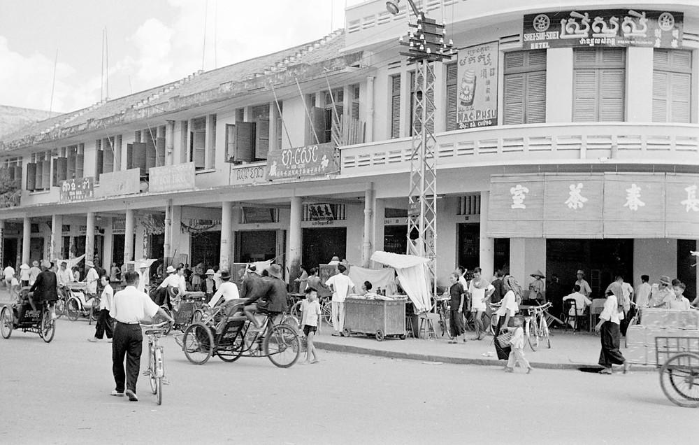 Phnom Penh dans les années 50