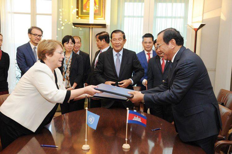 Droits de l'homme - HCDC : Michelle Bachelet et le Cambodge signent pour deux ans de plus