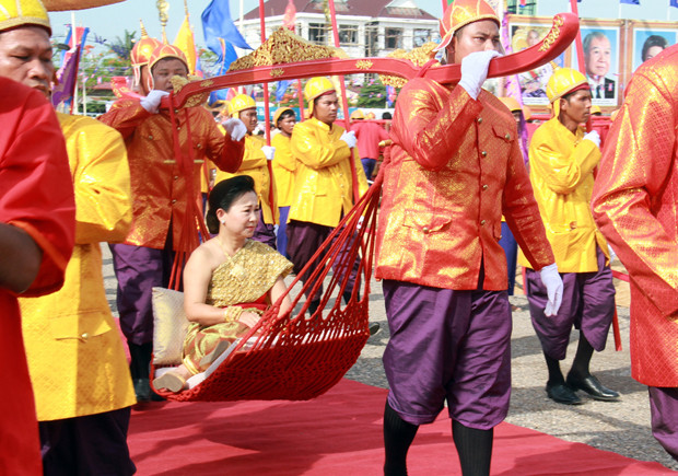 La fête du Sillon sacré à Battambang en 2015. Photo AKP