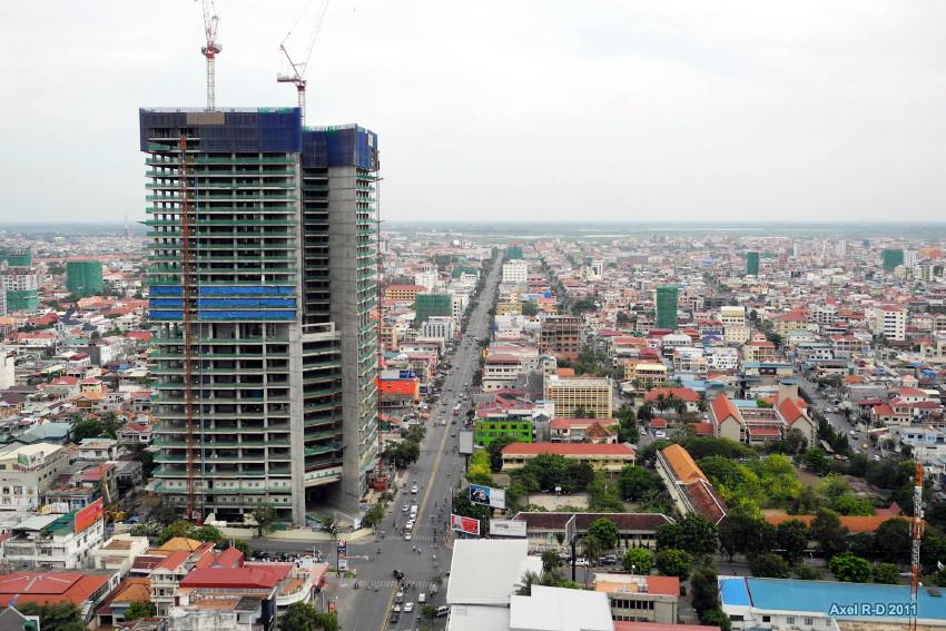 La Gold Tower 42 prête en 2020