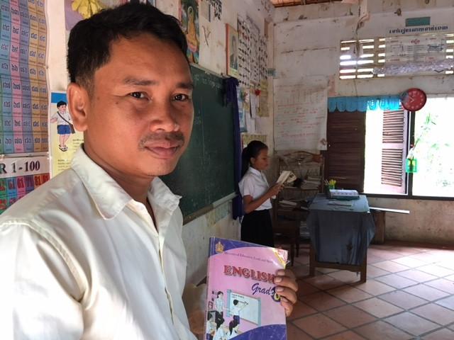 Yang Bunthoeun, un pédagogue tenace