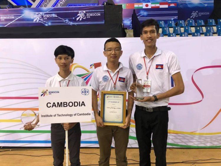 L'équipe cambodgienne remporte le troisième prix et le prix spécial au 17ème ABU Robocon 2018