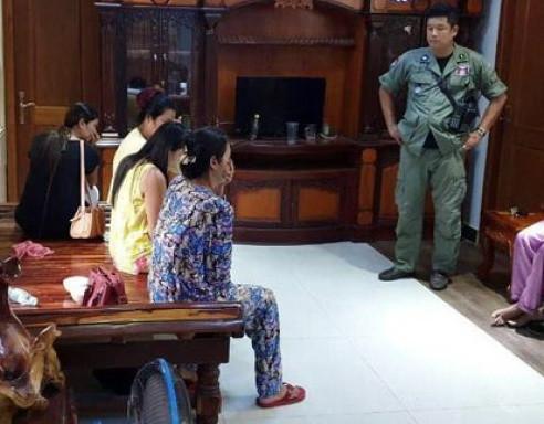 Nouvelle affaire de mères porteuses. Photographie Police Nationale