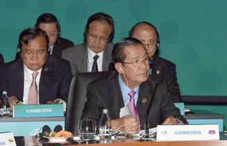 Le Premier ministre Hun Sen lors du Sommet Spécial ASEAN Australie. Photographie AKP