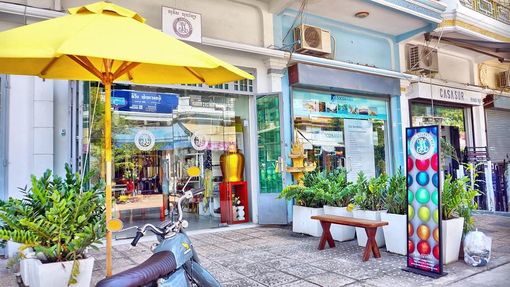 Une communauté de boutiques, de restaurants et de spas, soucieux de créer une ambiance mi-villageoise, mi-artiste