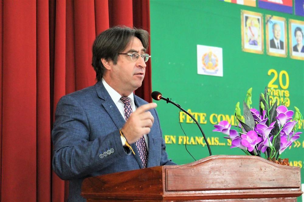 ric Normand Thibeault, directeur-représentant régional Asie-Pacifique-OIF